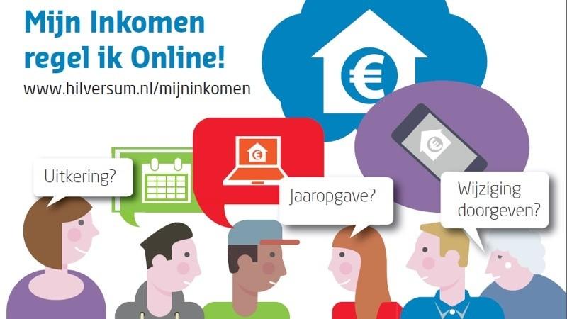 Inwoners Hilversum regelen inkomenszaken online